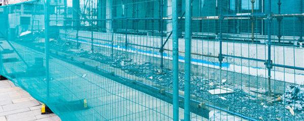 Clôtures et barrières de chantier